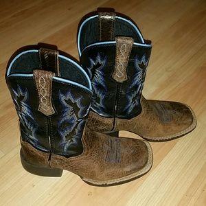 4LR Ariat Boys Boots 10